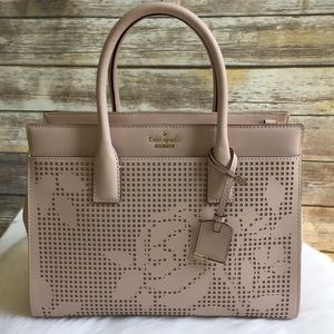 Kate spade Cameron Street perforated Candace Bag